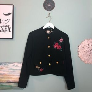 A New Day Embroidered Military Jacket 10 H3